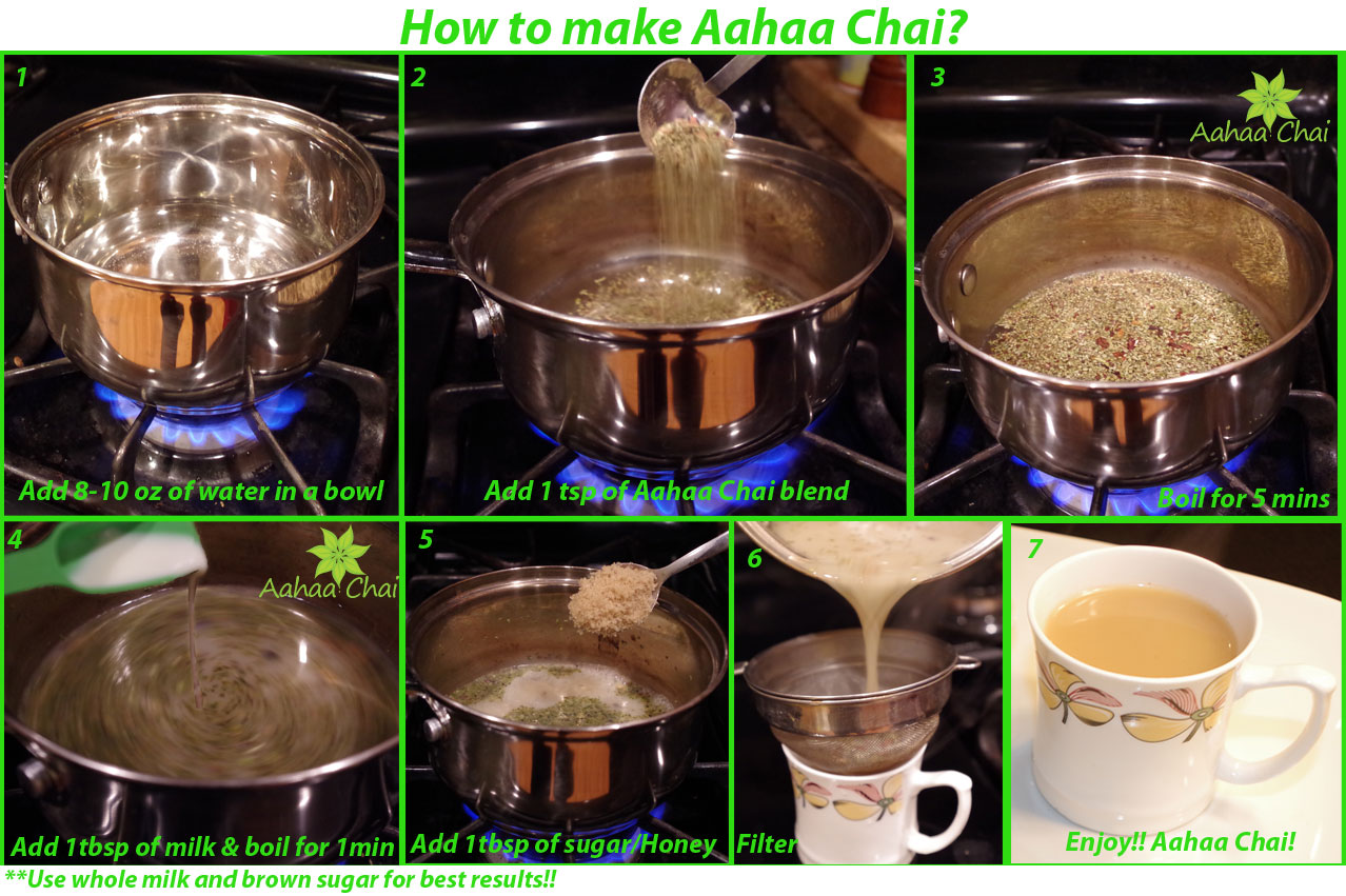 How to Make Aahaa Chai